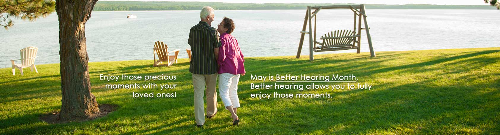 Better Hearing Month Banner - Clear Choice Hearing Aid Centers