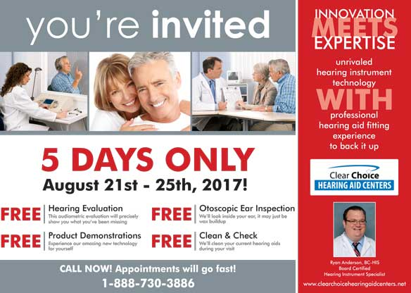 FREE Hearing Services - Clear Choice Hearing Aid Centers
